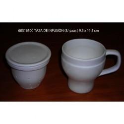 Taza infusión (filtro+tapa)