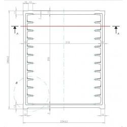 Base para columna cor-mull