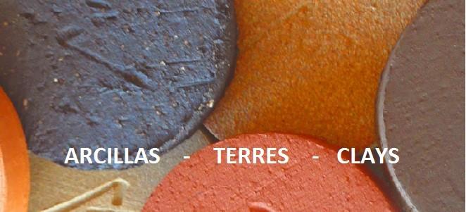Arcilla barro y pastas ceramicas